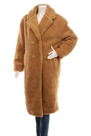 Палто с косъм URBAN CLASSICS