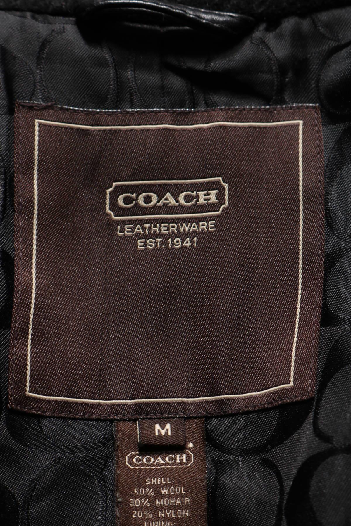 Зимно палто Coach3