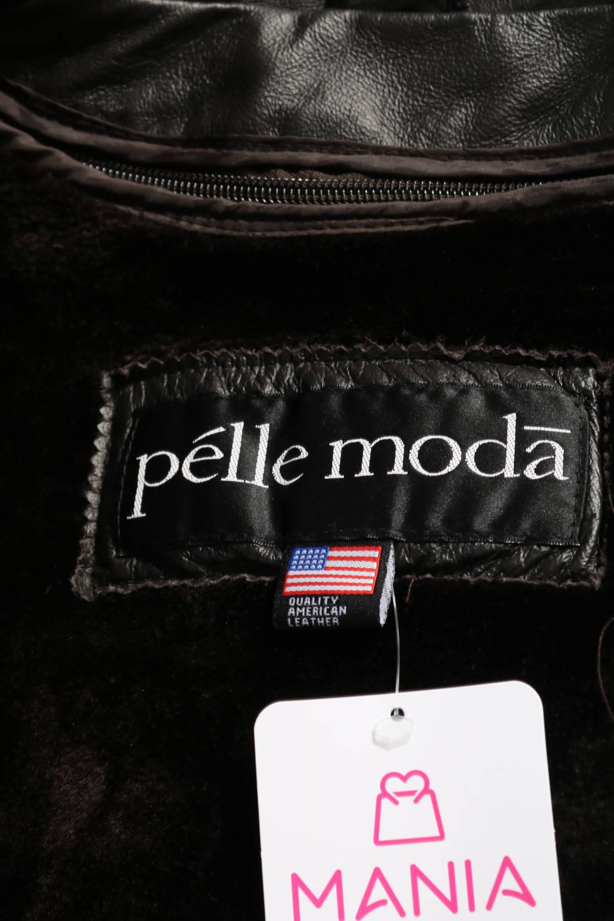 Кожено яке Pelle moda3