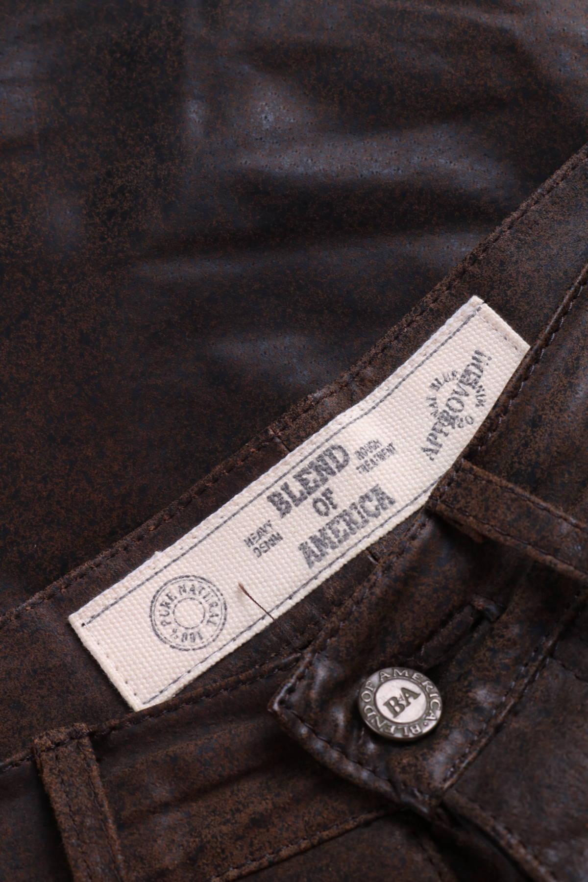 Кожен панталон BLEND OF AMERICA3