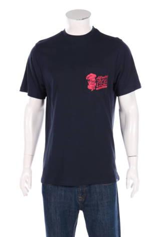 Тениска с щампа Pull&Bear