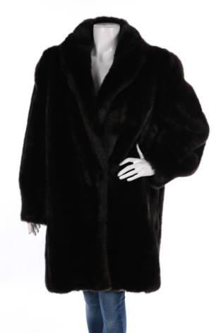 Палто с косъм No Name