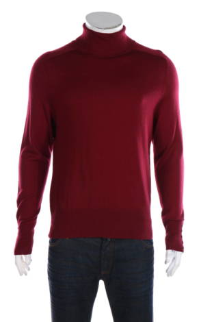 Пуловер с поло яка Victor Alfaro