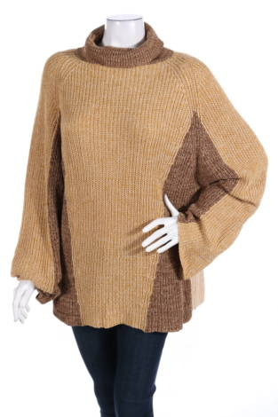 Пуловер с поло яка CARIN WESTER