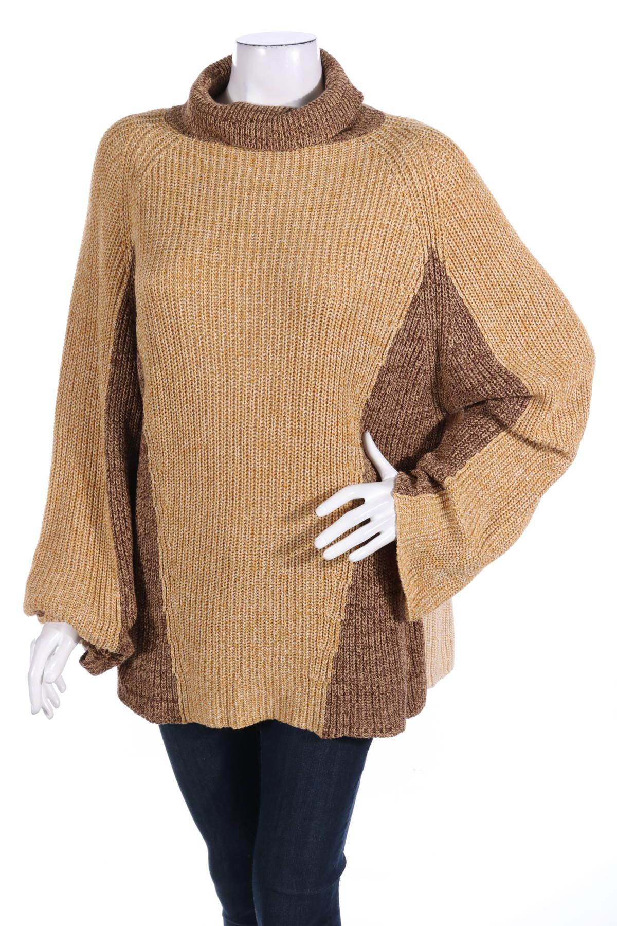 Пуловер с поло яка CARIN WESTER1