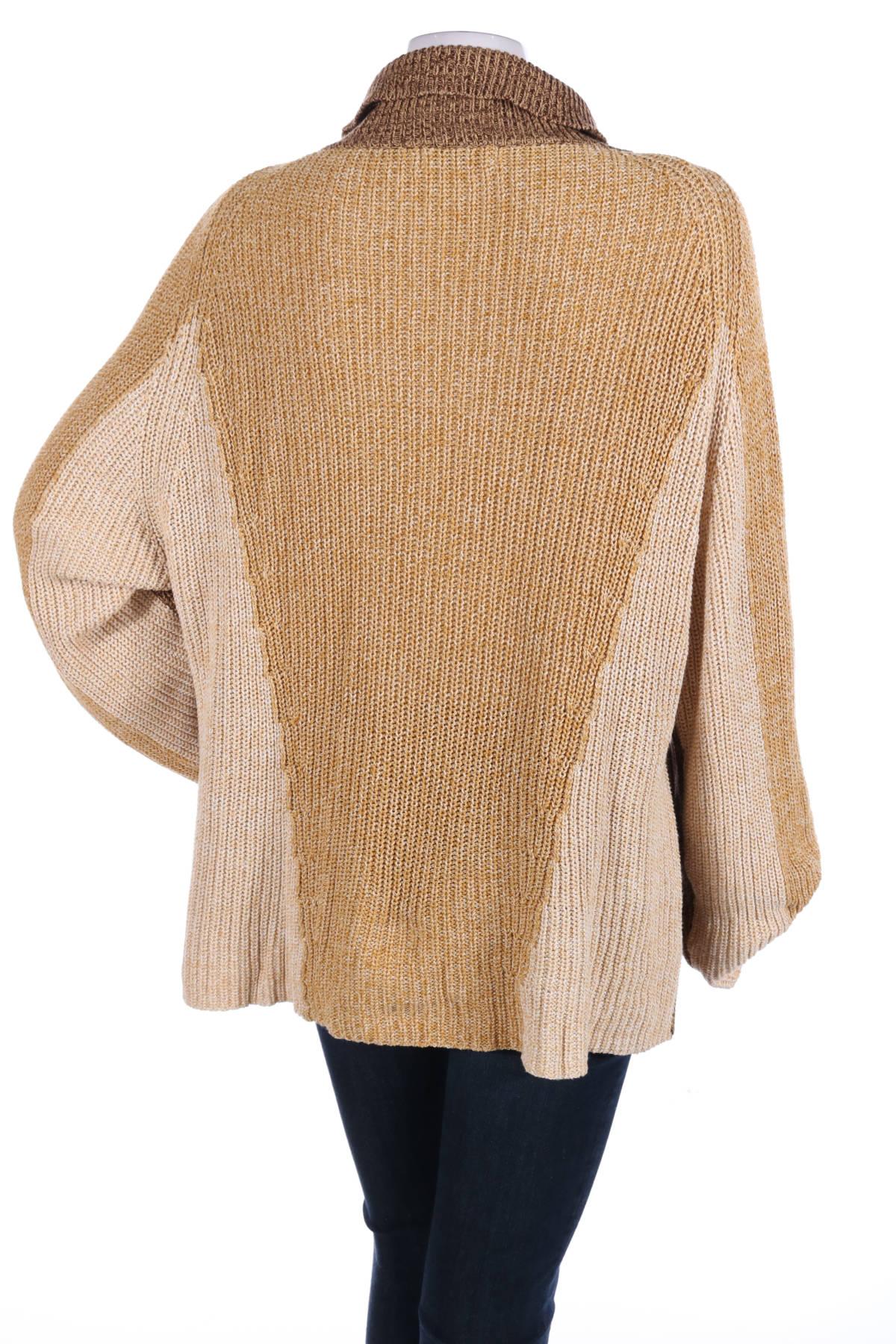 Пуловер с поло яка CARIN WESTER2
