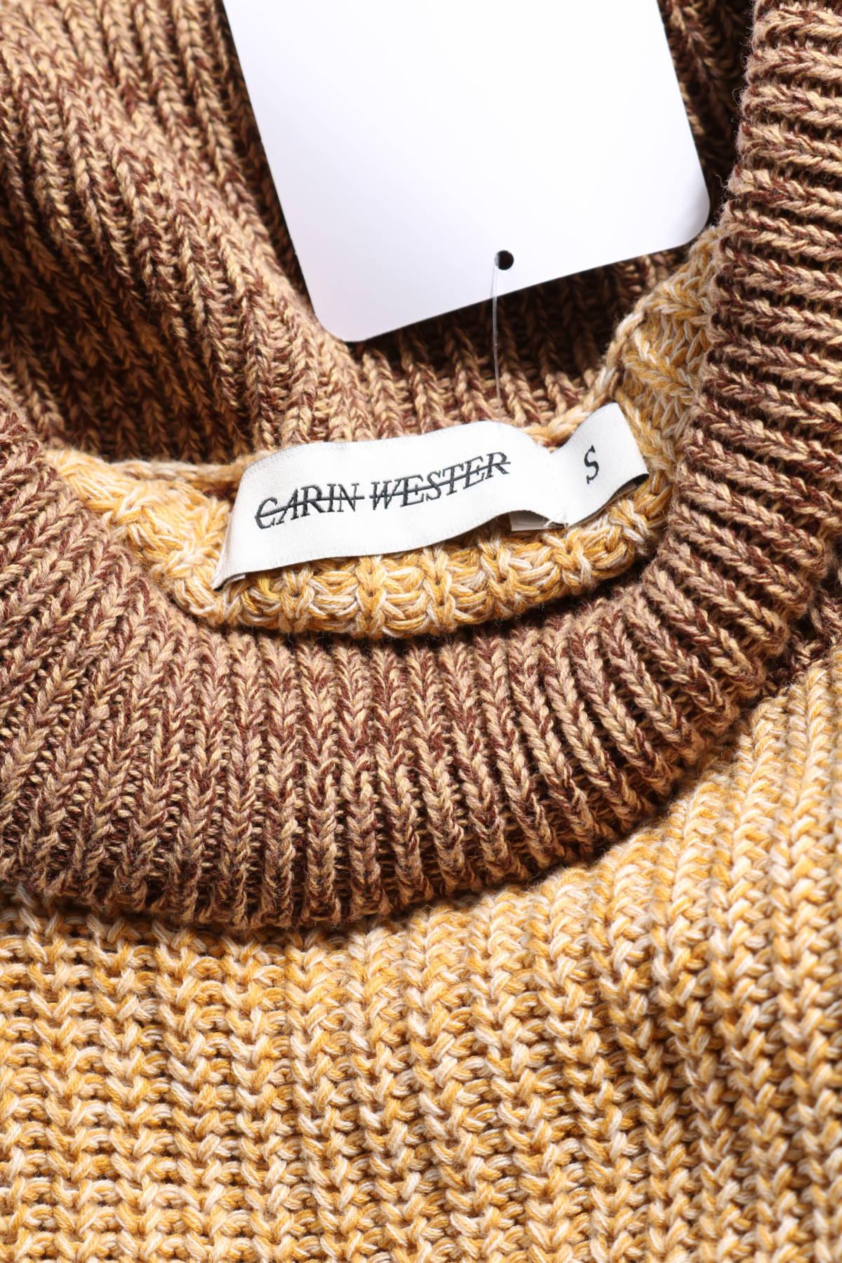 Пуловер с поло яка CARIN WESTER3