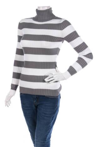 Пуловер с поло яка Love By Design