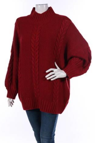 Пуловер с поло яка Lost ink