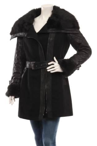 Палто с косъм MORGAN