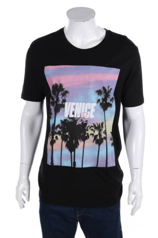 Тениска с щампа Fsbn