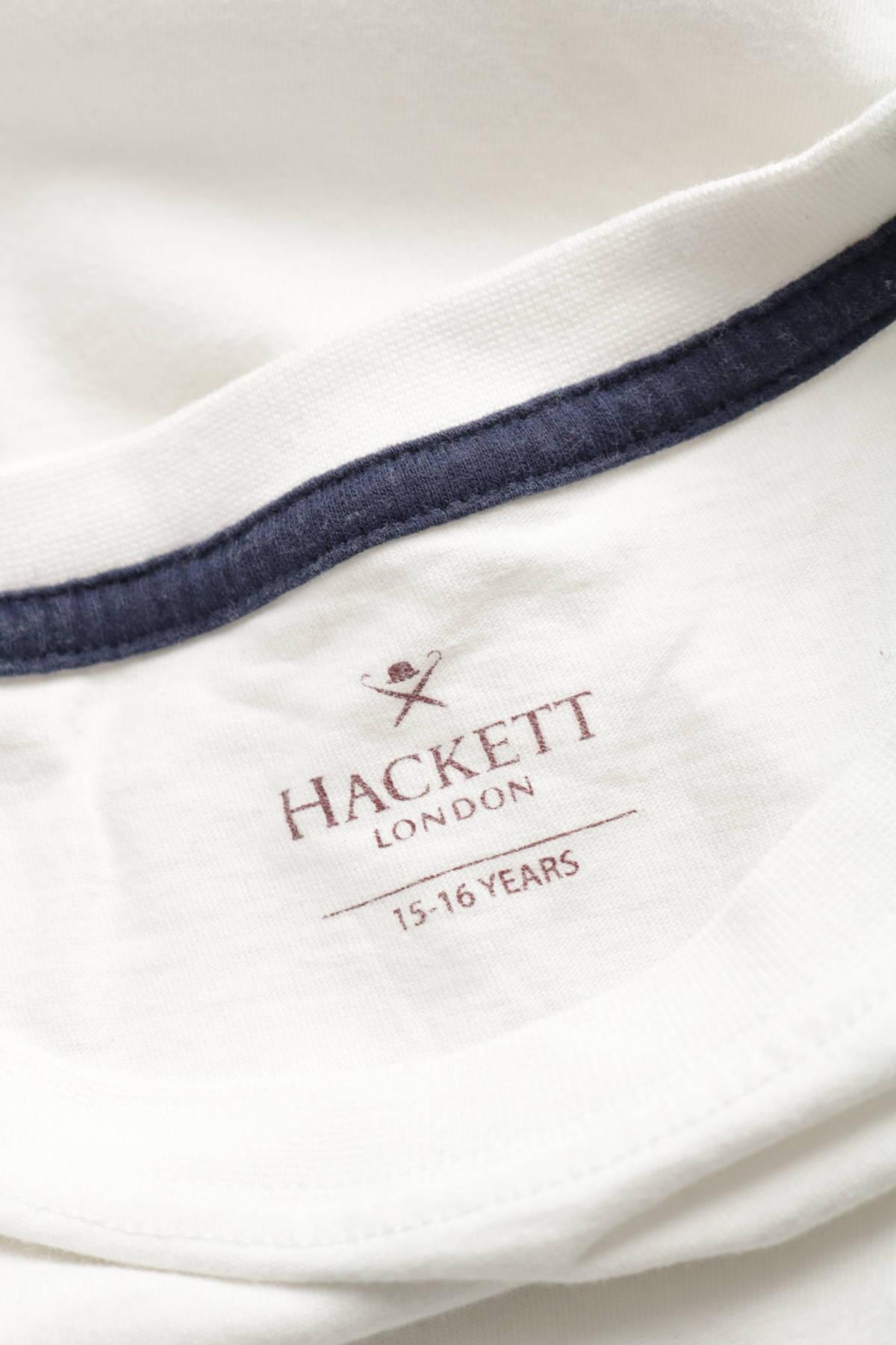 Детска тениска HACKETT3