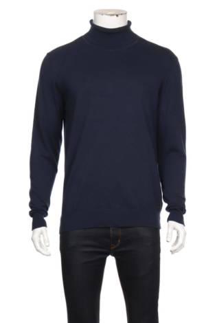 Пуловер с поло яка INDICODE