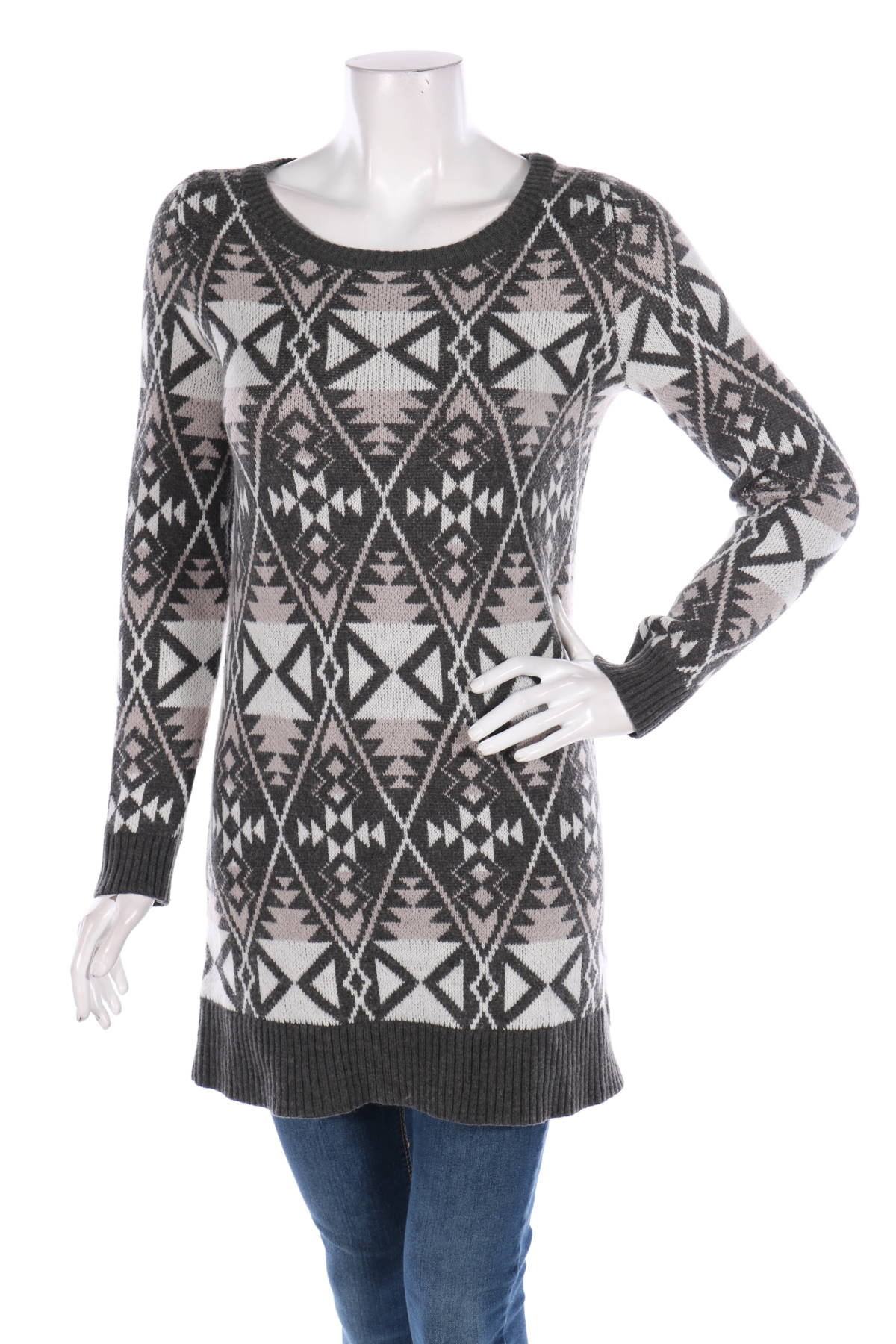 Пуловер с поло яка EXPRESS1