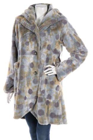 Палто с косъм Janska