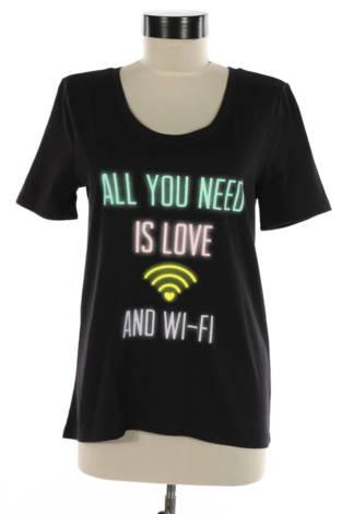 Тениска с щампа So