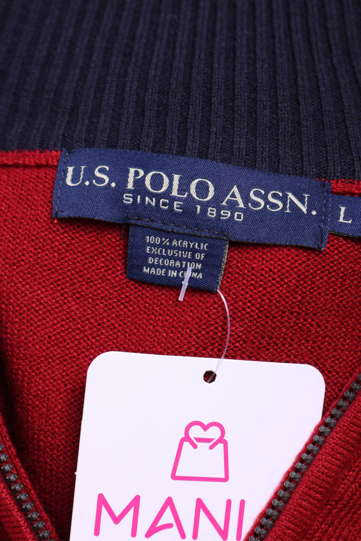 Пуловер Us Polo Assn.3