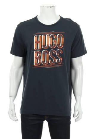 Тениска с щампа BOSS GREEN
