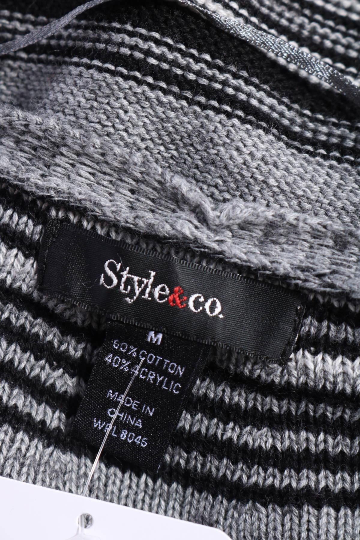 Пуловер STYLE & CO3
