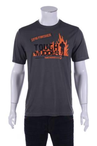 Тениска с щампа Merrell