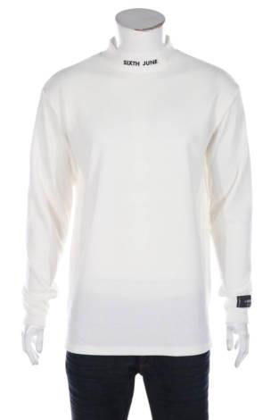 Блуза с поло яка SIXTH JUNE
