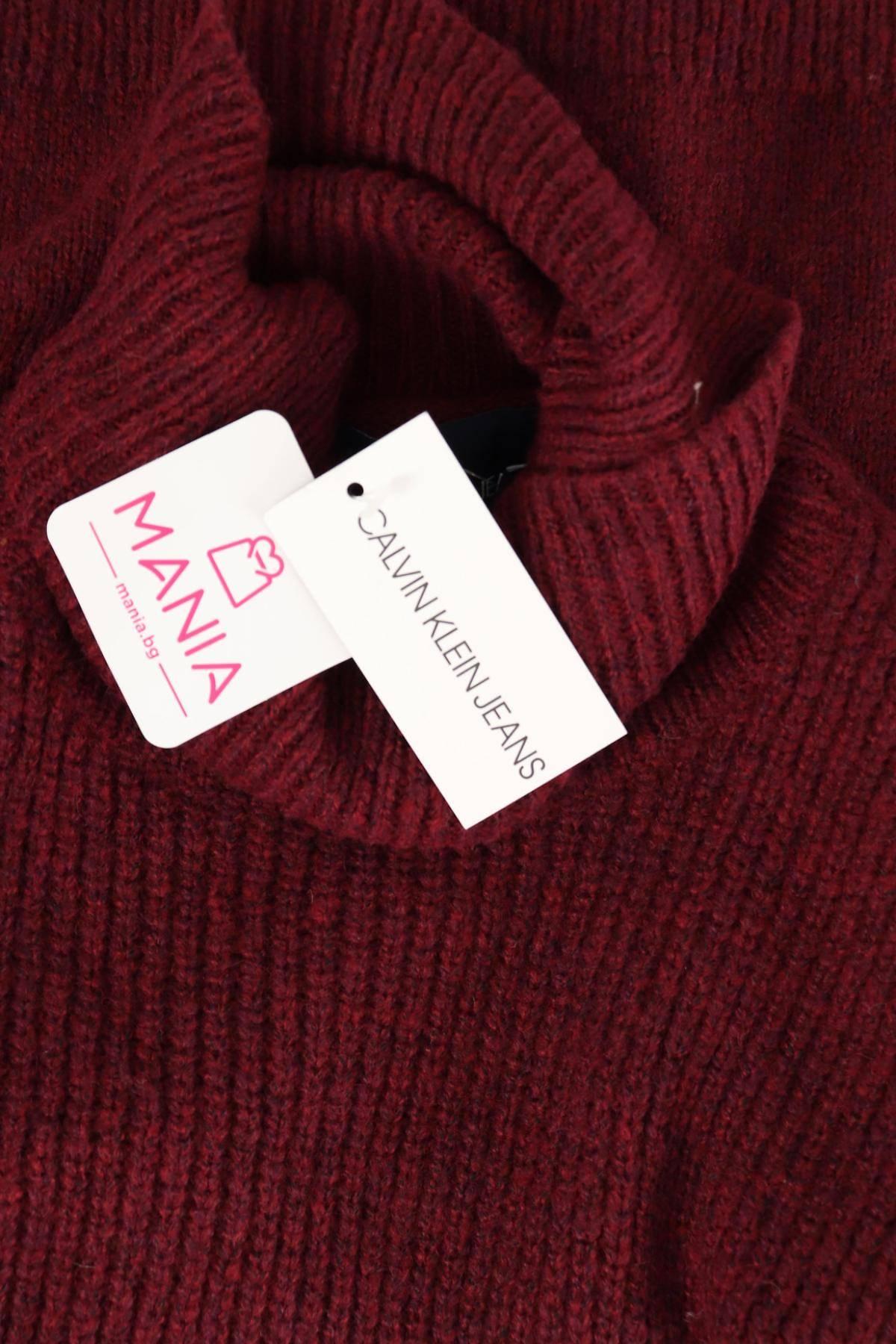 Пуловер с поло яка CALVIN KLEIN JEANS3
