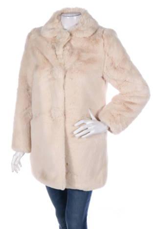 Палто с косъм Maje