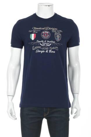 Тениска с щампа GIORGIO DI MARE