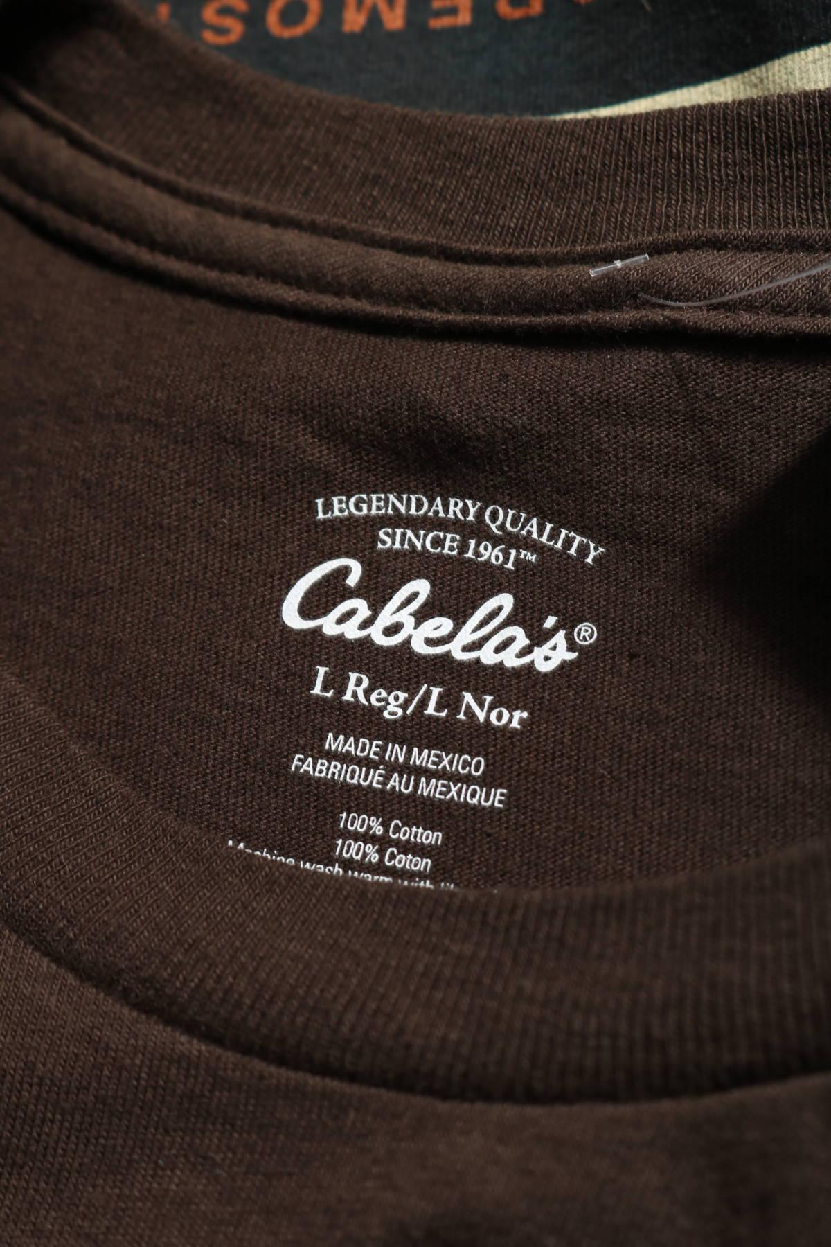 Тениска Cabela`s3