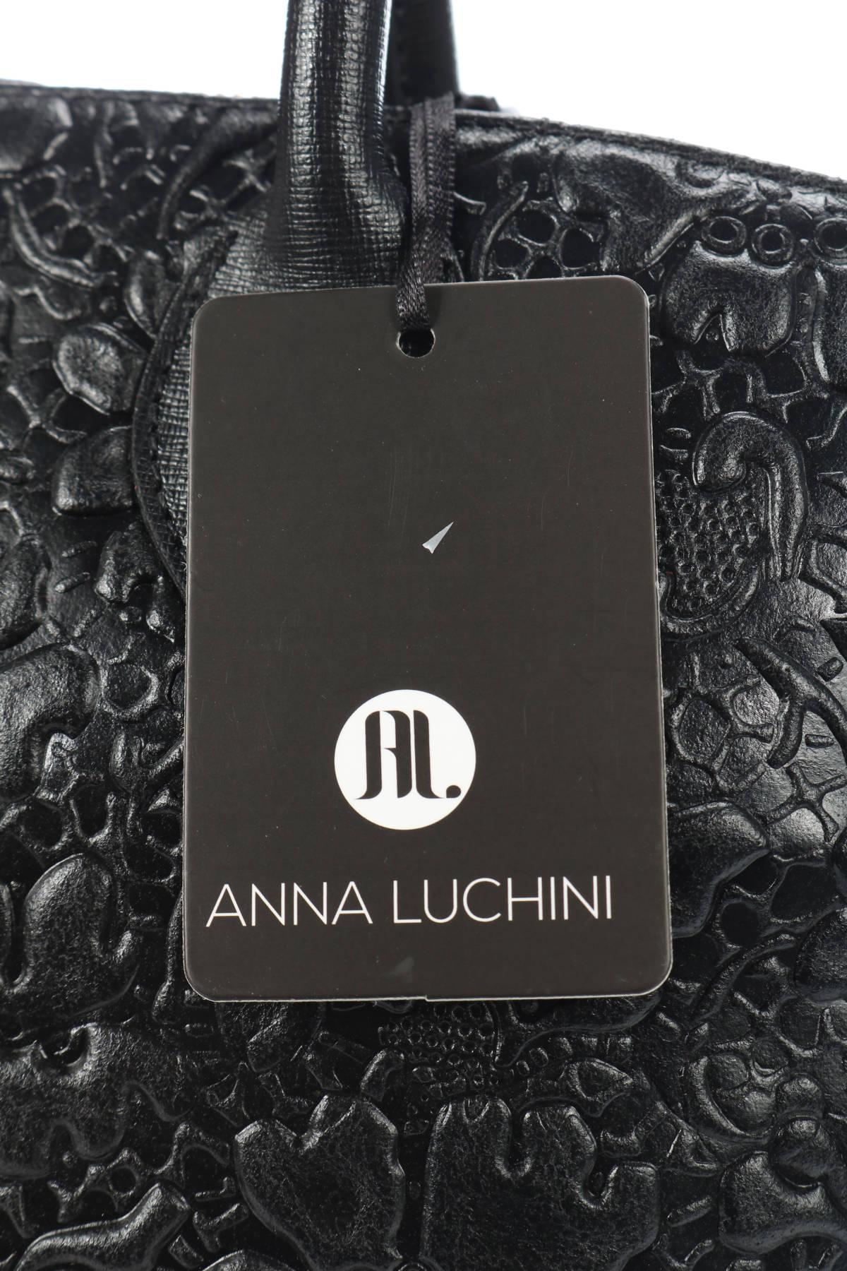 Кожена чанта Anna Luchini3