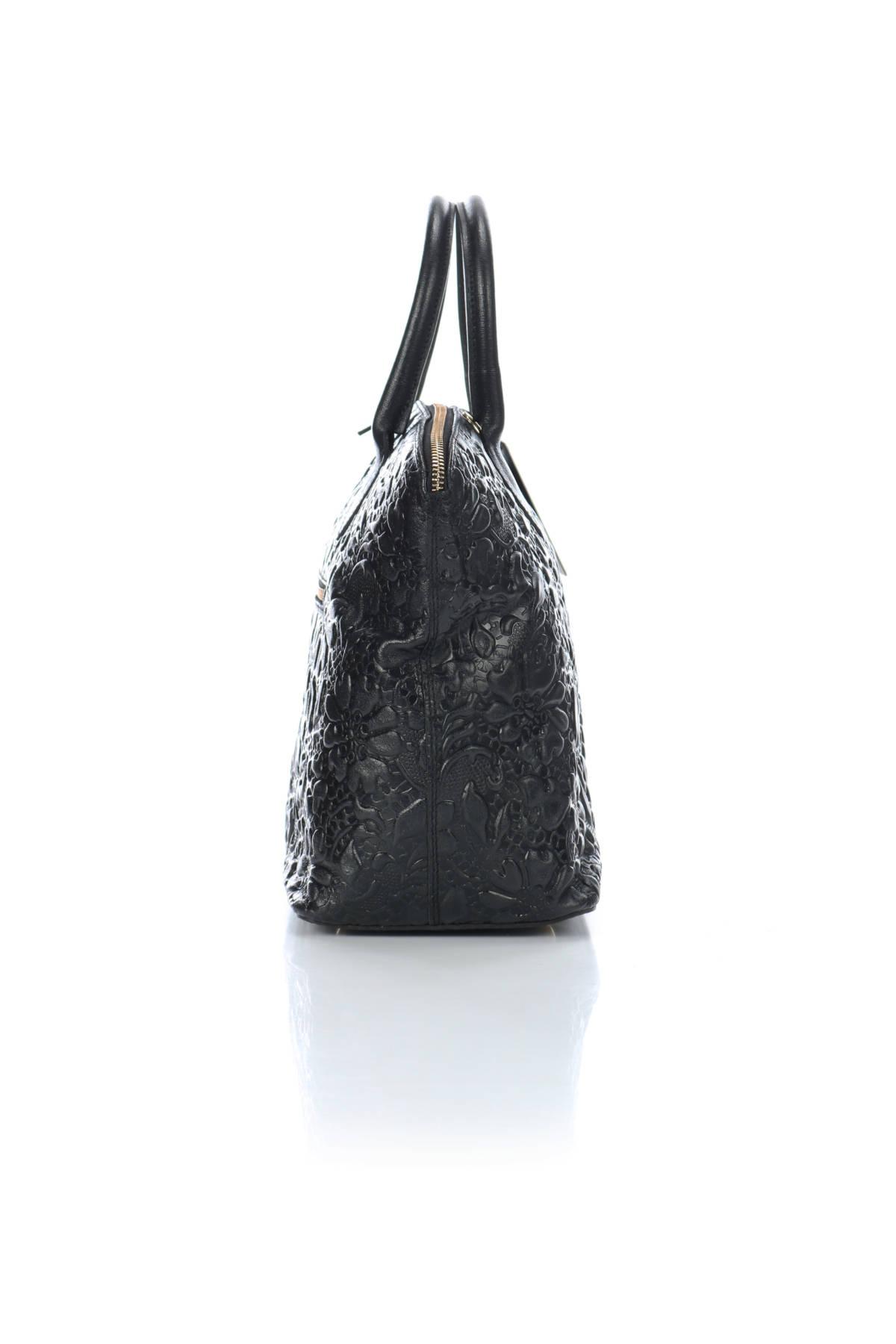 Кожена чанта Anna Luchini4
