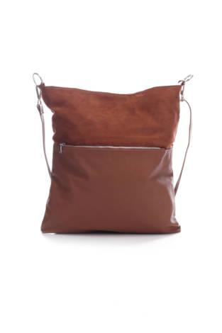 Кожена чанта H&M Divided