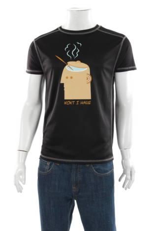 Тениска с щампа ST.LOUIS