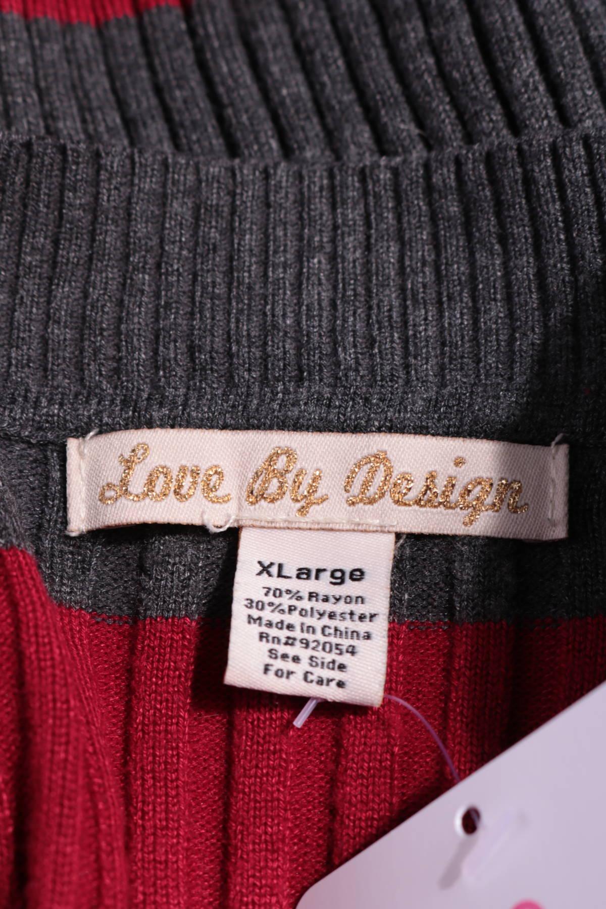 Пуловер LOVE BY DESIGN3