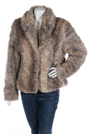 Палто с косъм Mossimo