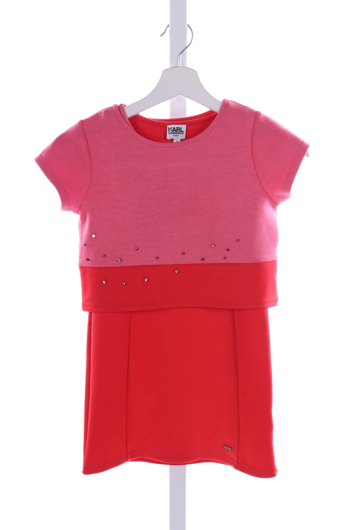 Детска рокля KARL LAGERFELD1