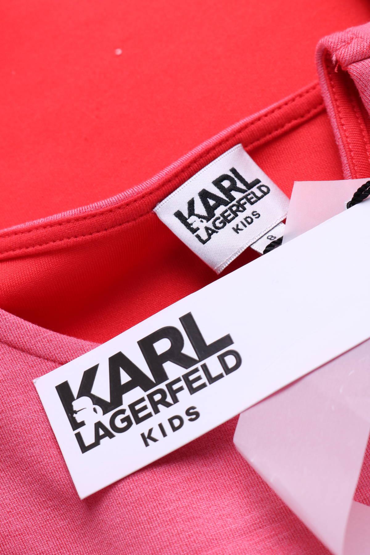 Детска рокля KARL LAGERFELD3