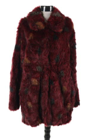 Палто с косъм H&M