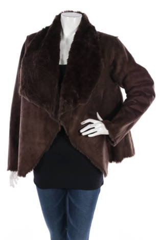 Палто с косъм Wd.Ny
