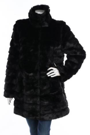 Палто с косъм Anne Klein