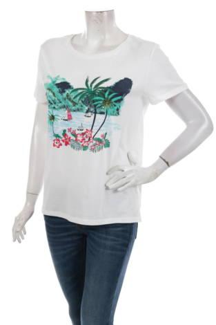 Тениска с щампа EDC BY ESPRIT