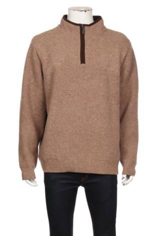 Пуловер с поло яка L.L. BEAN
