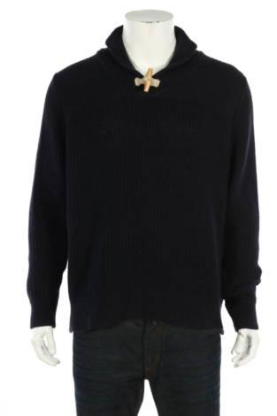 Пуловер с поло яка Dressmann