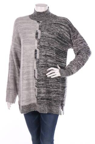 Пуловер с поло яка Cable&Gauge