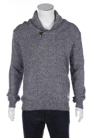 Пуловер с поло яка SOLID