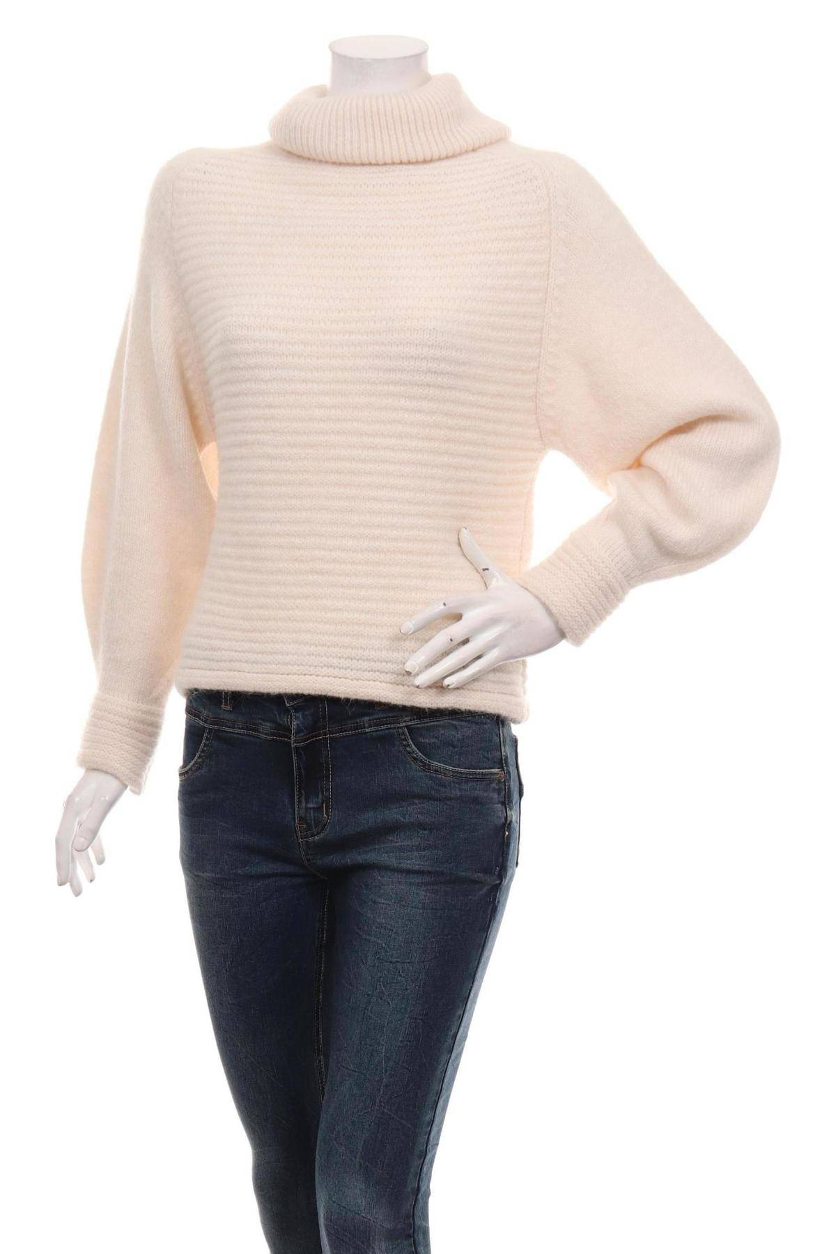 Пуловер с поло яка MANGO1