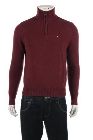Пуловер с поло яка Tommy Hilfiger
