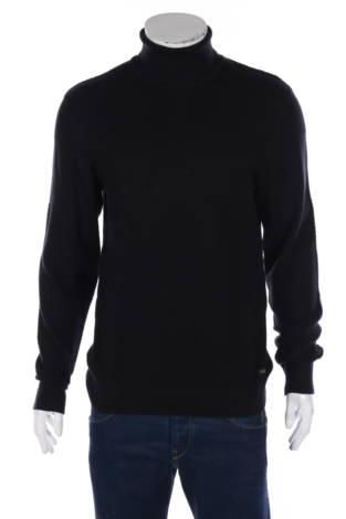 Пуловер с поло яка Blend