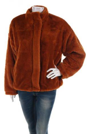 Палто с косъм FB SISTER