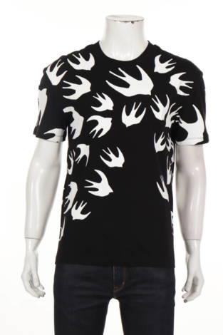 Тениска с щампа ALEXANDER MCQUEEN